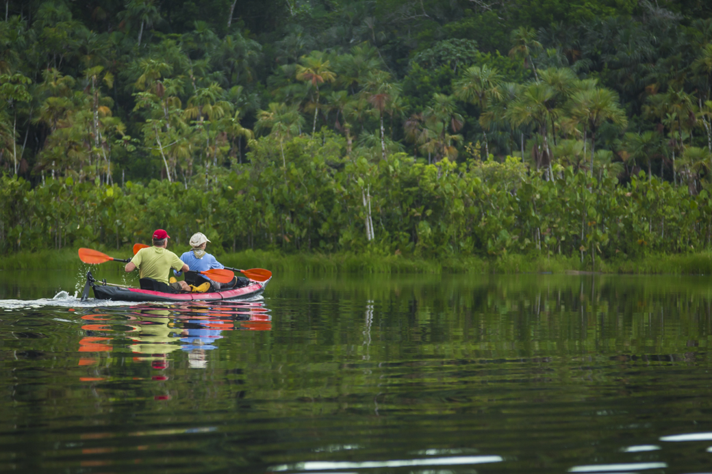 Kayaking Amazon Lake