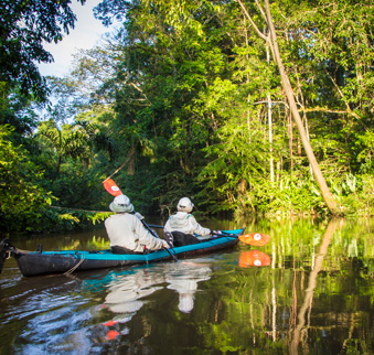 Amazon Kayaking Trips
