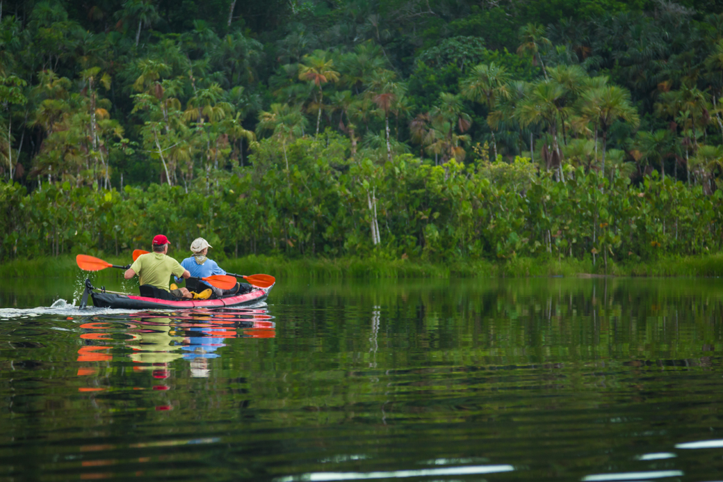 Amazon Kayaking Trip