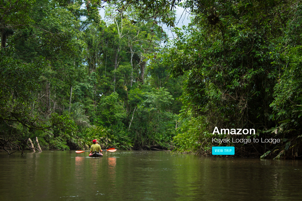 Amazon River Kayaking Trip