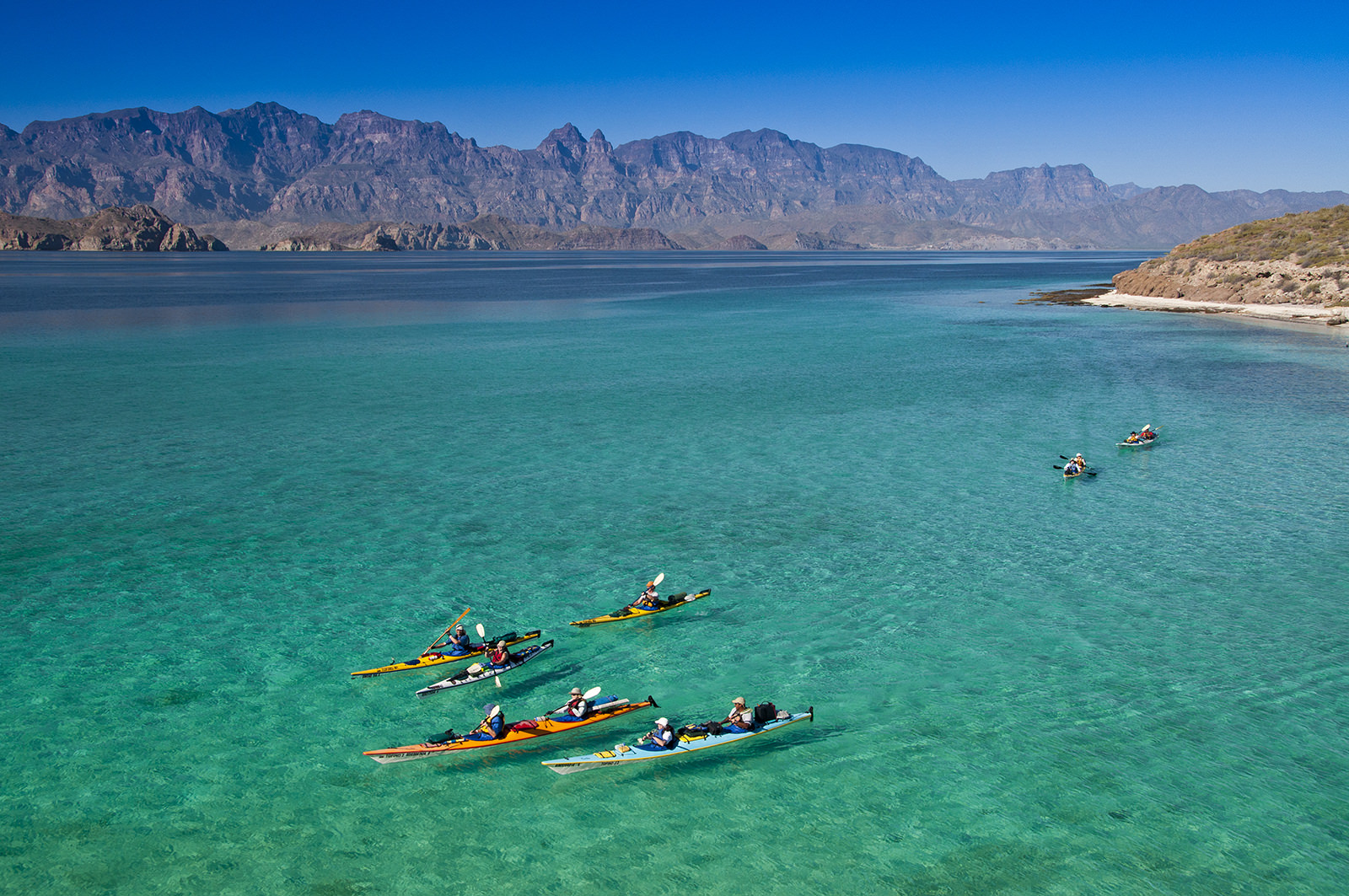 Baja Kayaking Tours – Kayak Loreto to La Paz