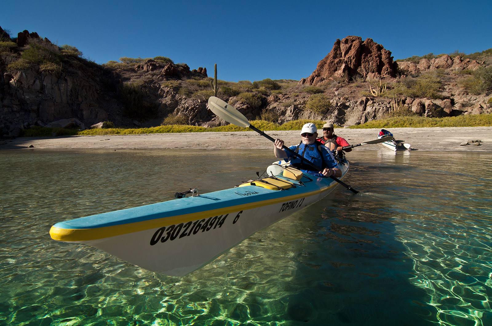 Baja Kayaking The Sea of Cortez
