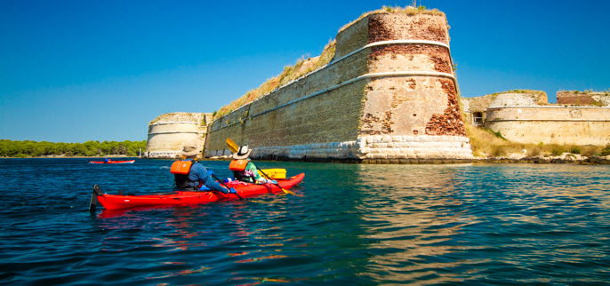 Croatia-Kayaking the Dalmatian Coast