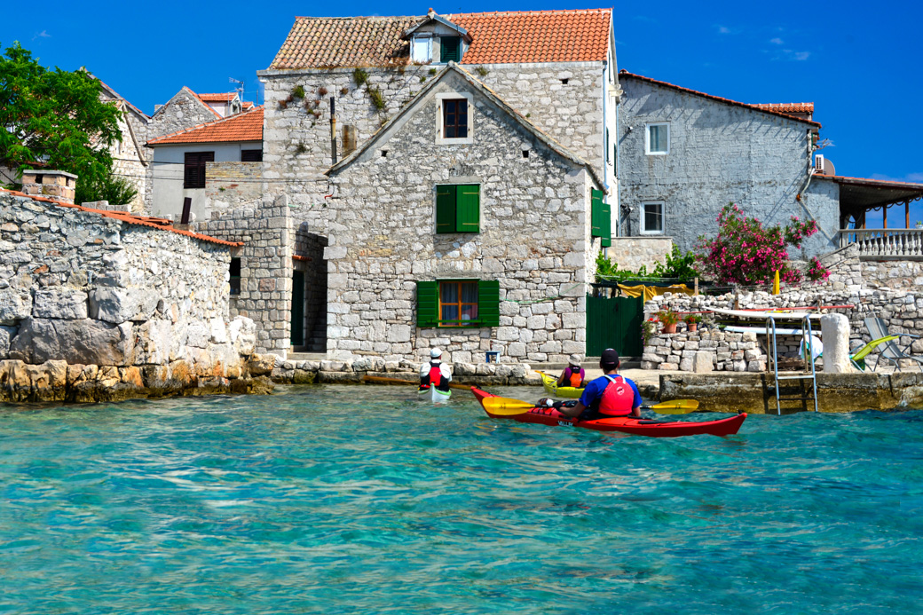 Croatia Kayaking the Dalmatian Coast