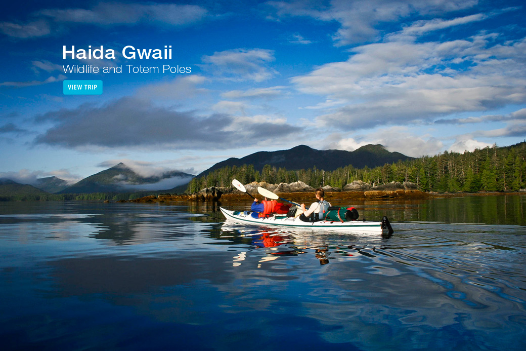 Haida Gwaii Kayaking Tour