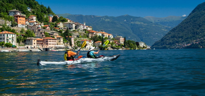 Italy - Kayaking the Italian Lake District