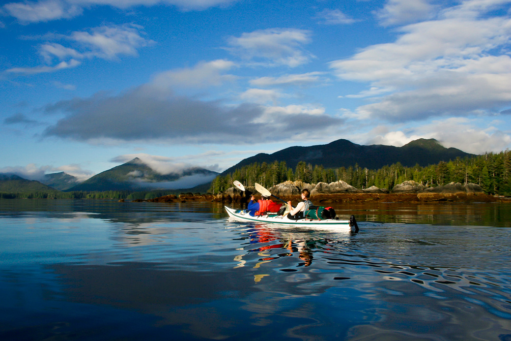 Haida Gwaii Kayak Tour Early Morning Skincuttle Inlet