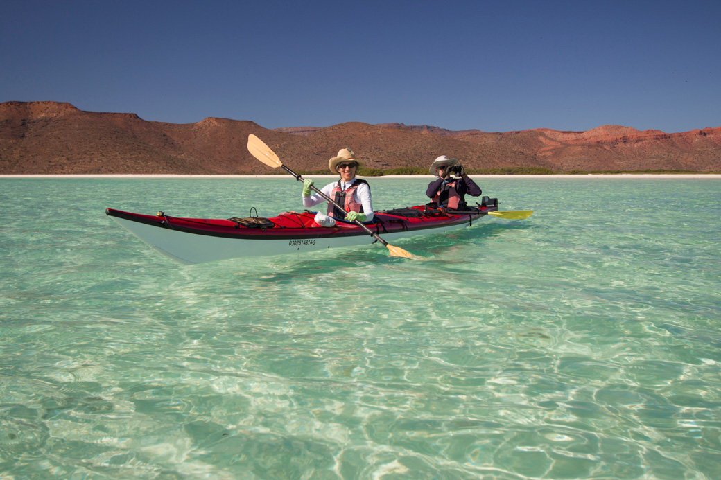 Baja Sea Kayaking Tours and Trips since 1988