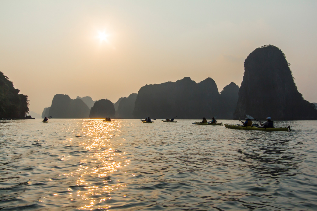 Vietnam Kayaking Tour of Halong Bay