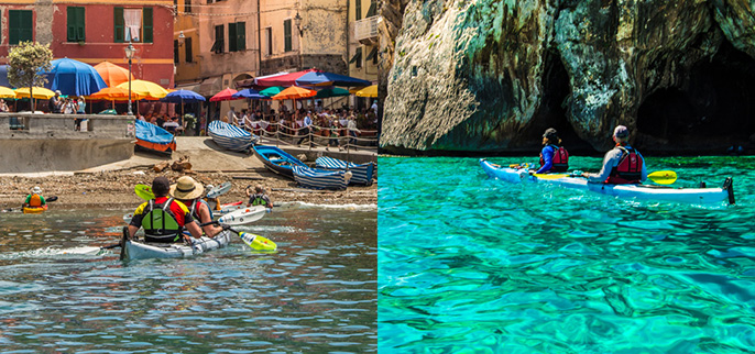 Cinque Terre and Sardinia Kayaking Tours