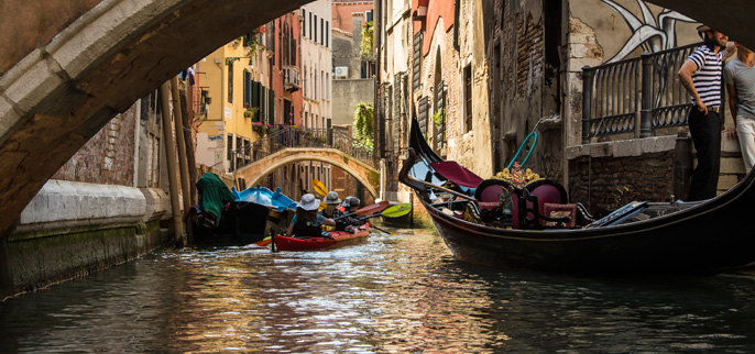 Italy - Venice Kayaking Tours