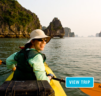 Vietnam Kayaking Tours - Halong Bay