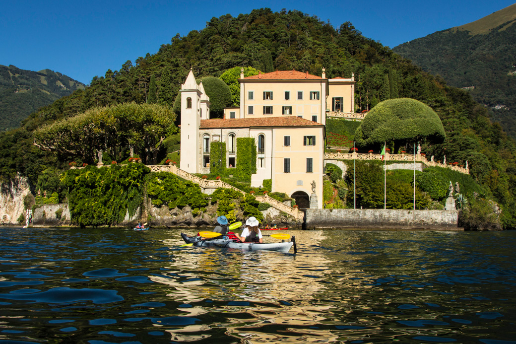 Kayaking Tour of the Italian Lake District