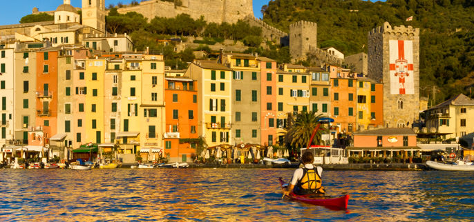Italy - Kayaking The Italian Riviera and Cinque Terre