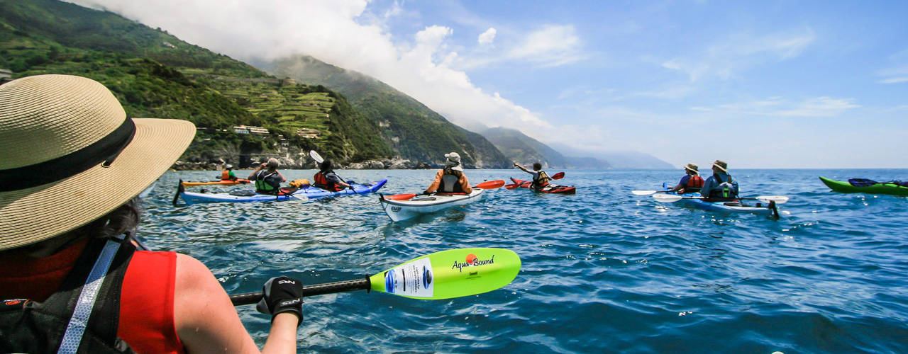 Kayaking the Cinque Terre Coast