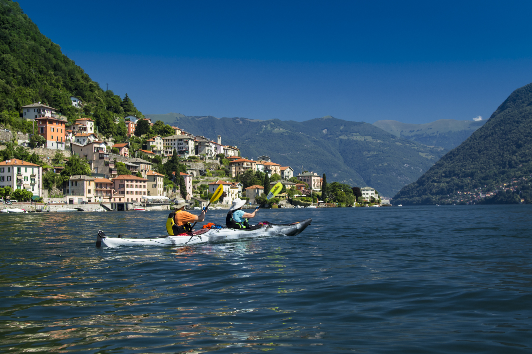 Kayaking Lago Como