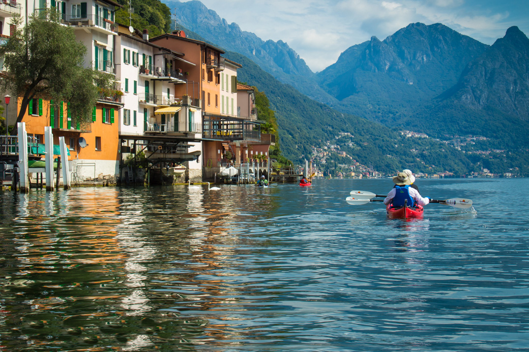 Italy Kayaking Tours Hotel Based Kayak Trips