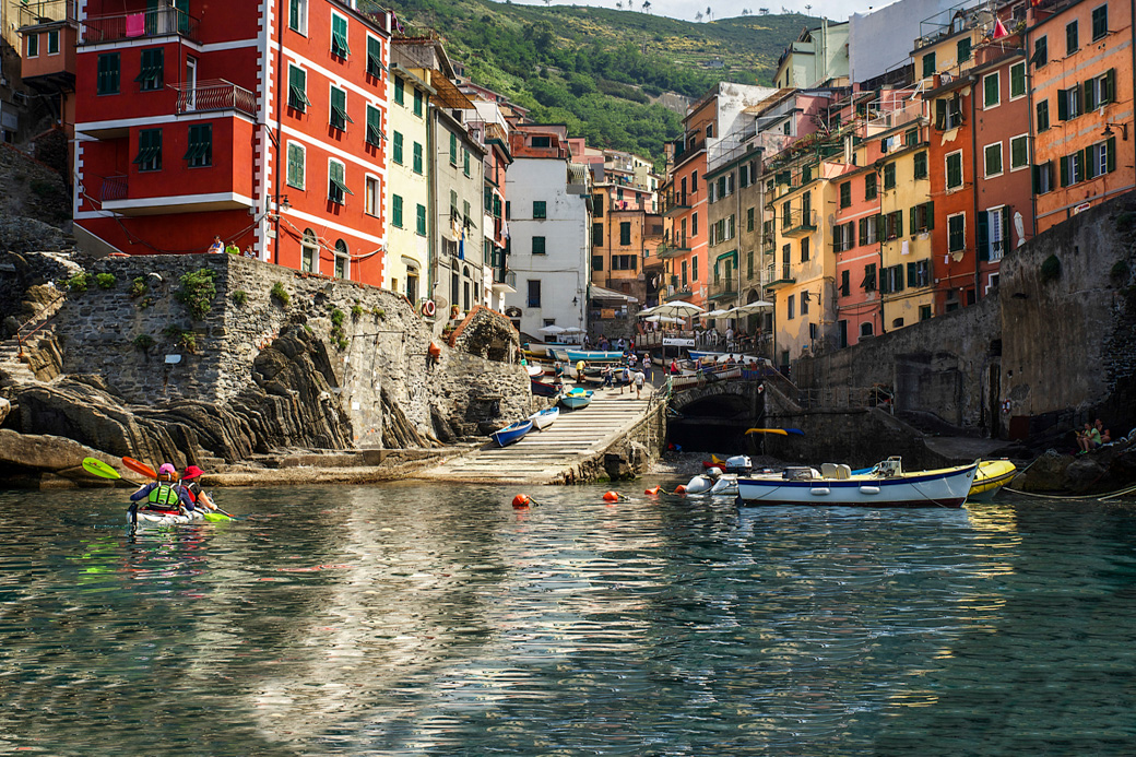Cinque Terre Kayaking and Hiking Trips