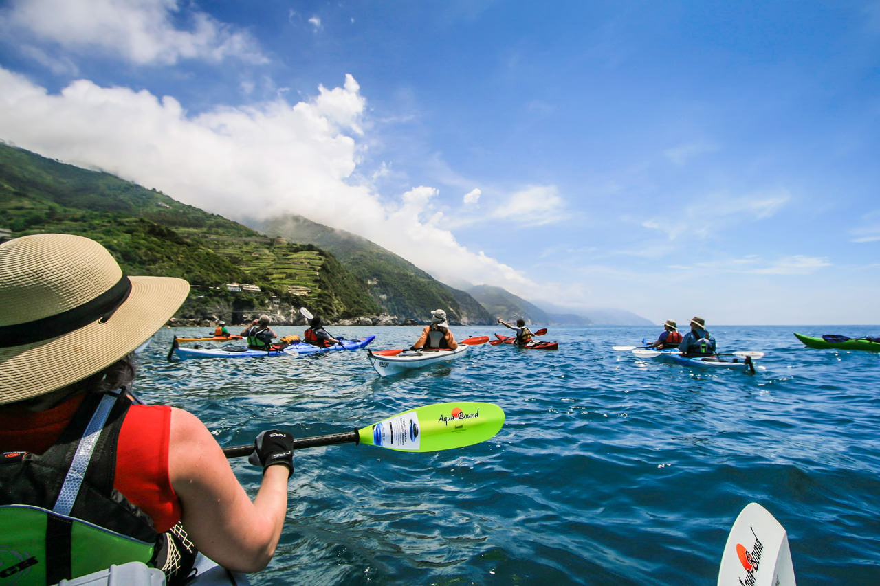 Kayaking Cinque Terre and the Italian Riviera