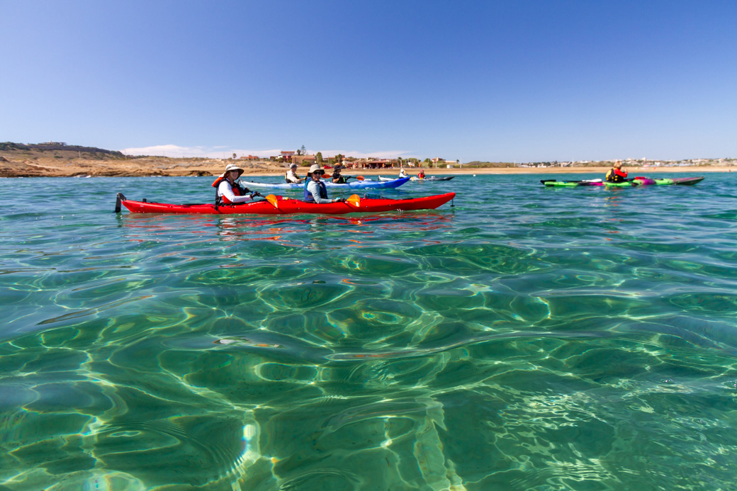 Sicily Kayaking Clear Waters