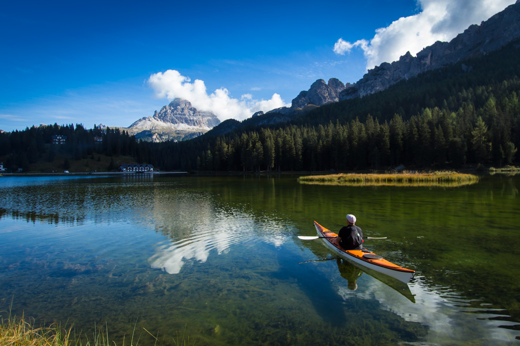 Kayaking Venice and the Dolomites