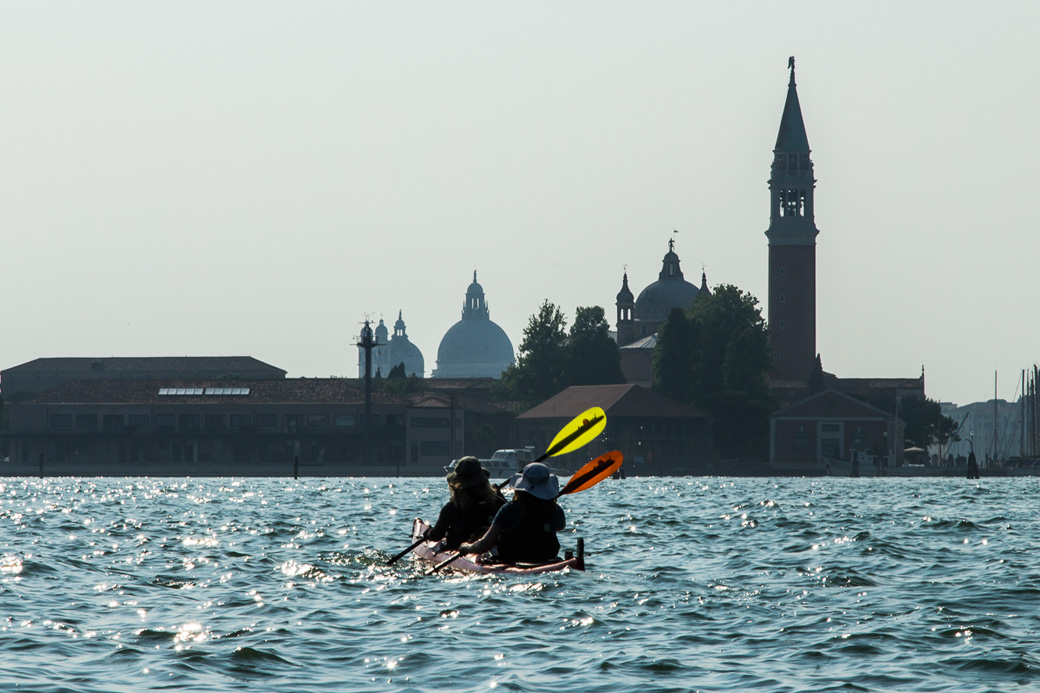 Crossing the basin of the Canal Grande to San Giorgio Maggiore, Venice