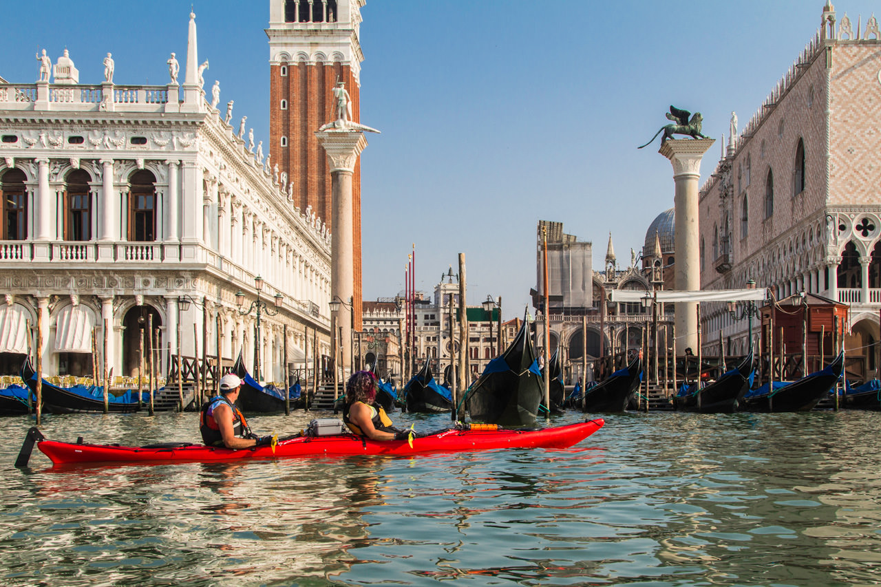 Venice Kayaking Trip View of St. Marks