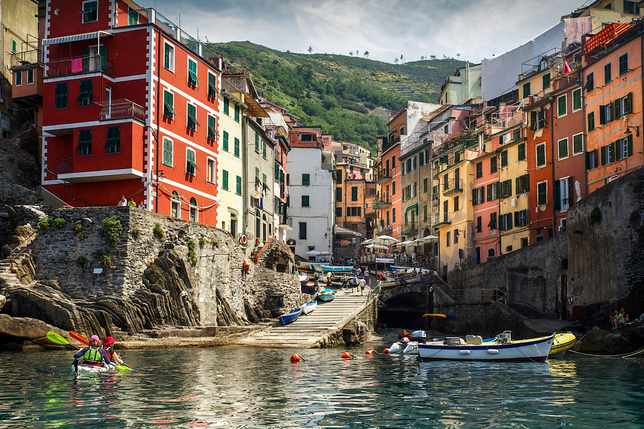 Italy Kayaking Tours