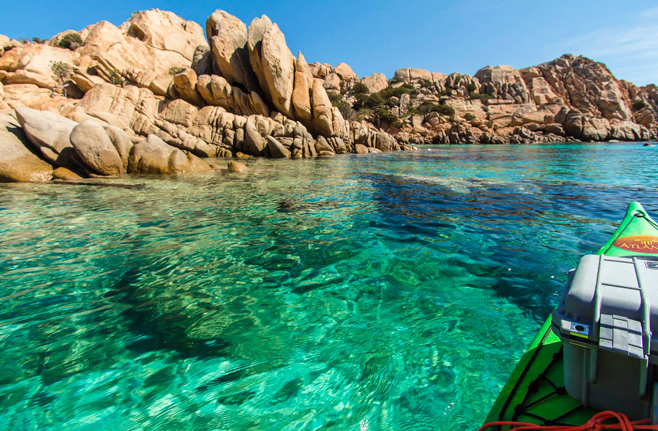 Chrystal Clear water of the La Maddalena Archipelago