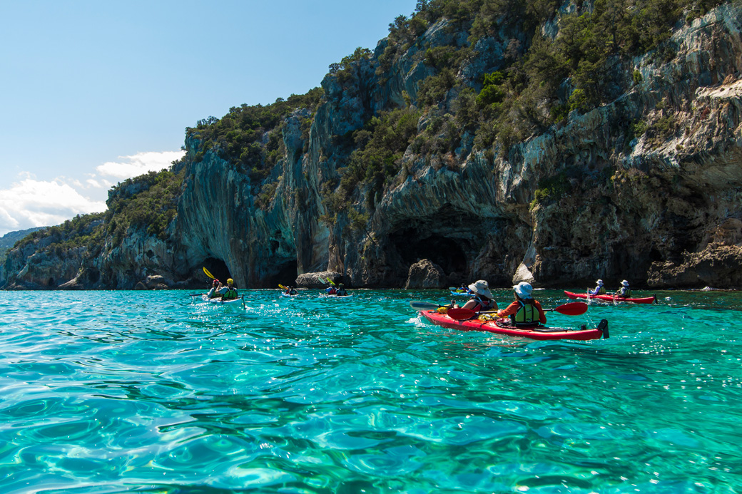 Kayaking the beautiful Gulf of Orosei