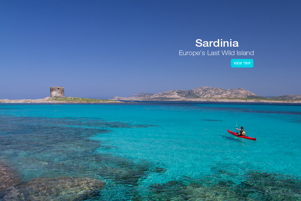 Italy - Sardinia Kayaking Tour