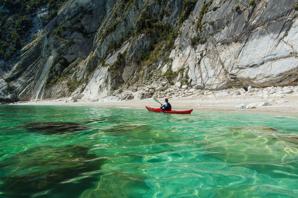 Kayaking the Conero Riviera