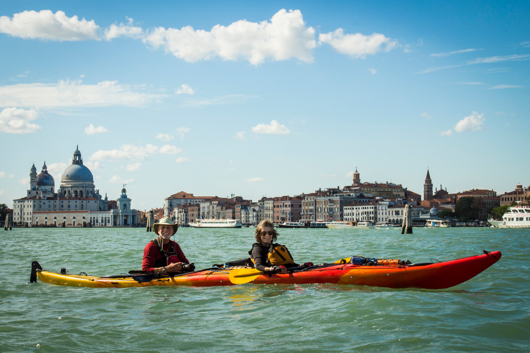 Venice Kayak Trip Basin of the Canale Grande